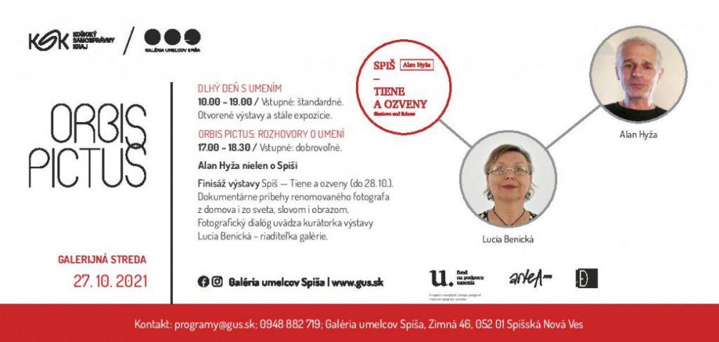 Orbis Pictus / Rozhovory o umení: Alan Hyža nielen o Spiši | spisskanovaves.eu
