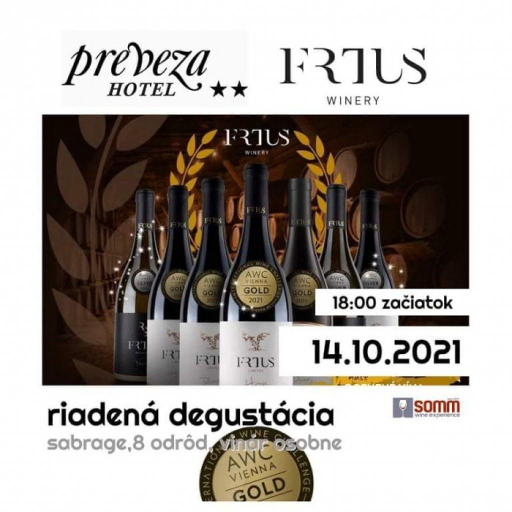 Riadená degustácia: Frtus Winery   spisskanovaves.eu