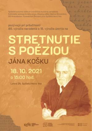 Stretnutie s poéziou Jána Košku   spisskanovaves.eu